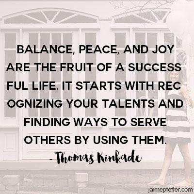 balance thomas kinkade