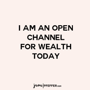 channel for wealth