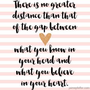 distance head heart